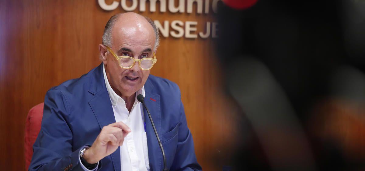 Antonio Zapatero, viceconsejero de Salud Pública y Plan COVID-19 (Foto: Comunidad de Madrid)
