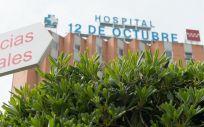 Zonas externas pertenecientes al Hospital 12 de Octubre (Foto. Joaquin Corchero   Europa Press)