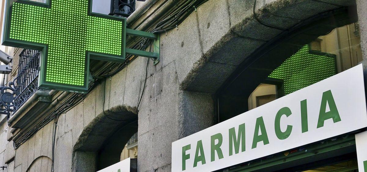 Imagen de recurso de una farmacia de Madrid. (Foto. COFM  Europa Press)
