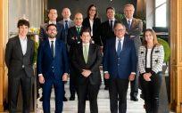 Junta Directiva de AESEG, para el periodo 2020 2022. (Foto. Mauricio Skrycky / Aeseg)