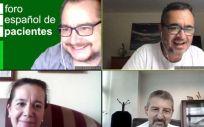 Reunión virtual de la Sociedad Española de Técnicos Superiores Sanitarios (Setss) y el Foro Español de Pacientes (FEP).