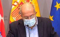 El vicepresidente y portavoz de la Junta de Castilla y León, Francisco Igea. (Foto. JCYL EP)