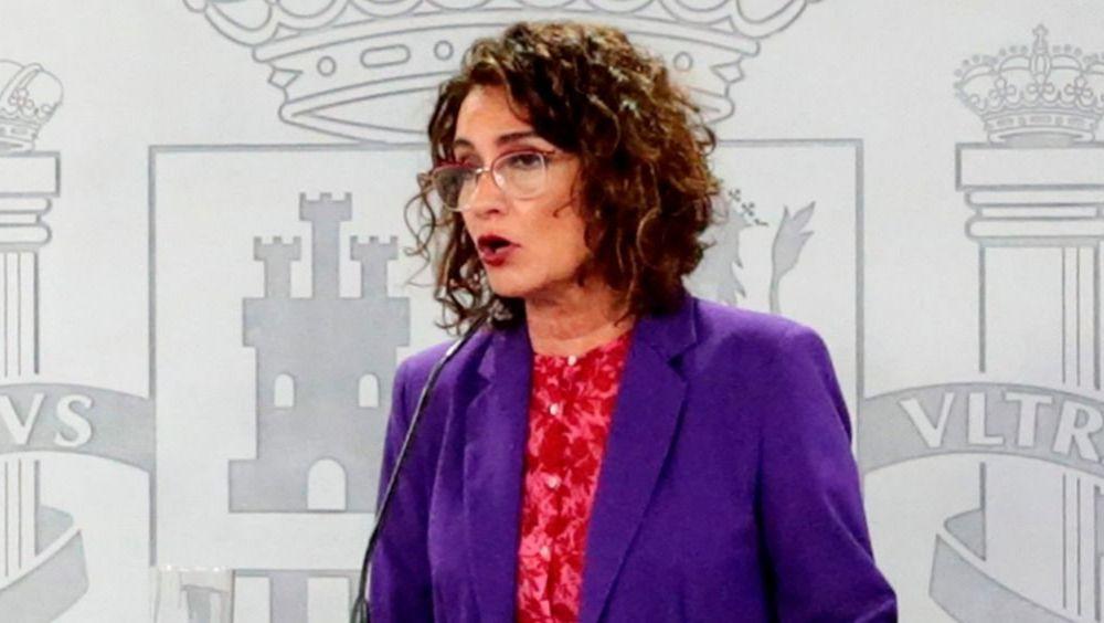 María Jesús Montero, ministra de Hacienda (Foto: Pool Moncloa / JM Cuadrado)