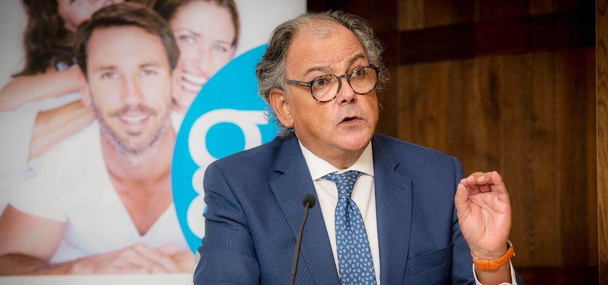 El secretario general de Aeseg, Ángel Luis Rodríguez de la Cuerda. (Foto. Aeseg)