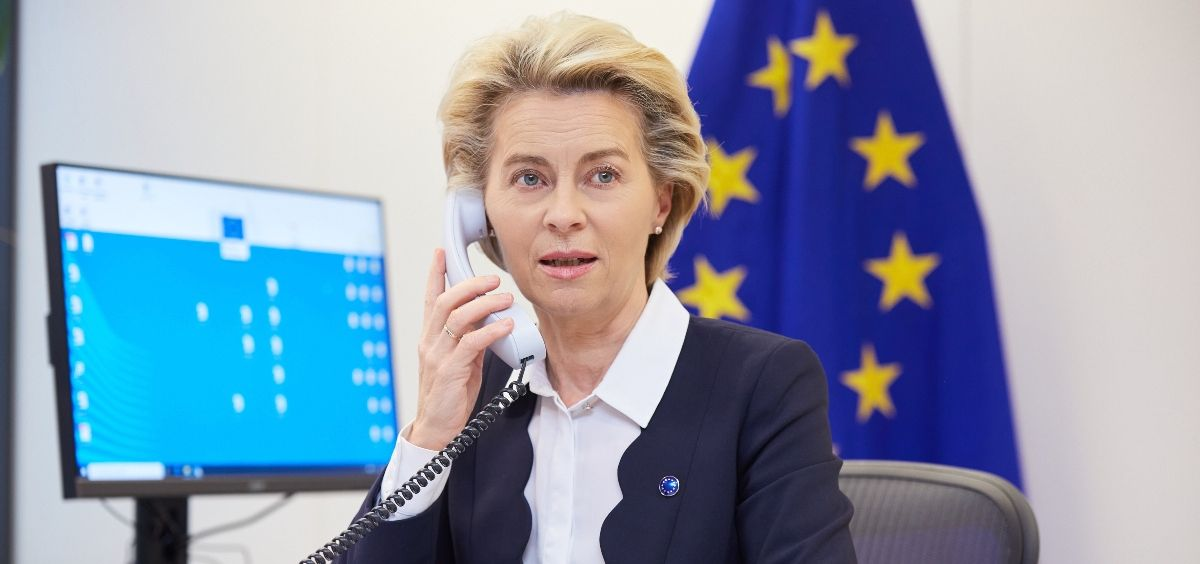 Úrsula Von der Leyen, presidenta de la Comisión Europea (Foto. @vonderleyen)