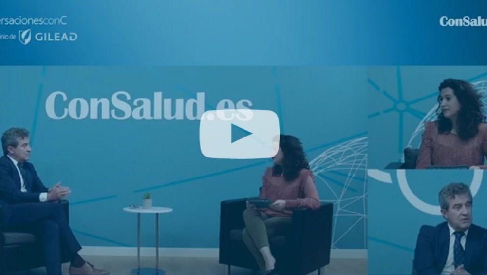 El doctor Javier Crespo, en un momento de la entrevista en el espacio 'Conversaciones con C' (vídeo)