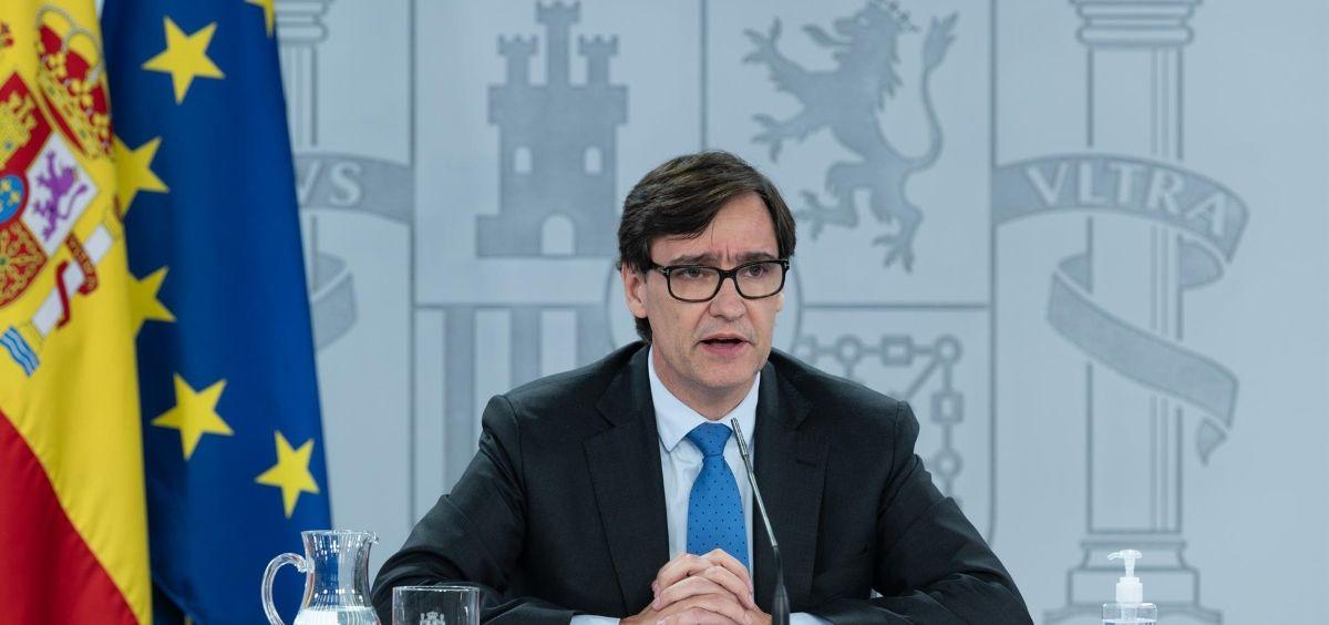 El ministro de Sanidad, Salvador Illa, (Foto. Moncloa)