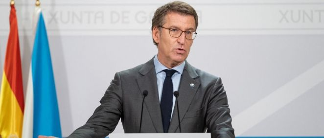 Alberto Núñez Feijóo, presidente de la Xunta de Galicia (Foto: Xunta)