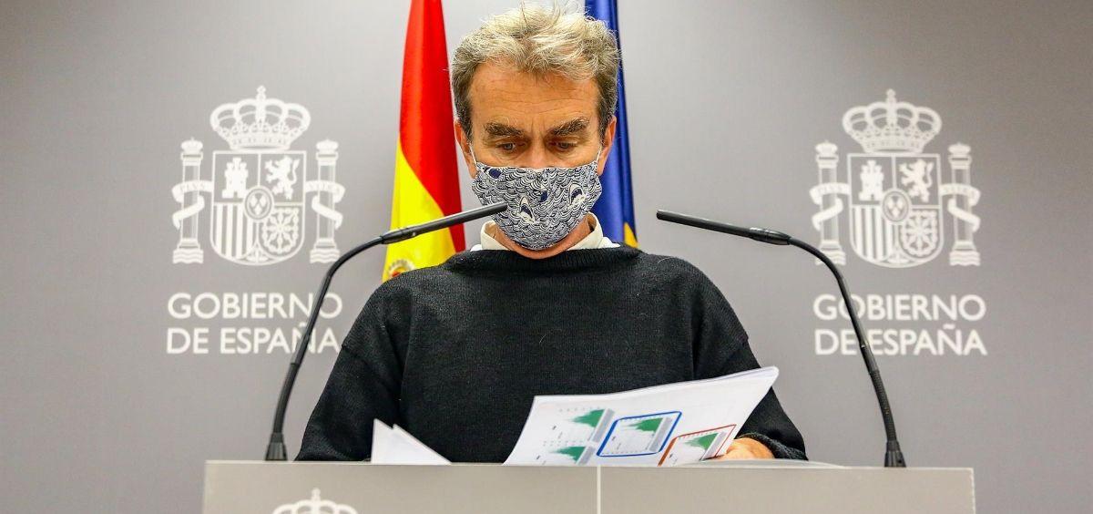 El director del CCAES, Fernando Simón, (Foto Ricardo Rubio   Europa Press)
