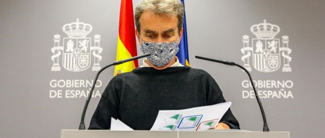 El director del CCAES, Fernando Simón, (Foto Ricardo Rubio   Europa Press)