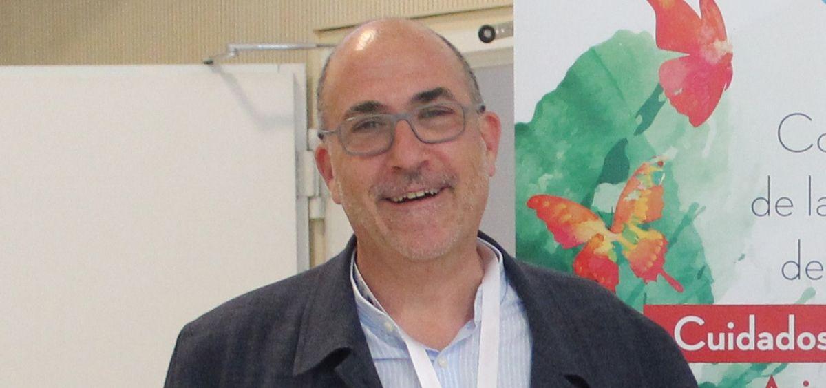 Alberto Meléndez, vicepresidente de la Sociedad Española de Cuidados Paliativos (Secpal).