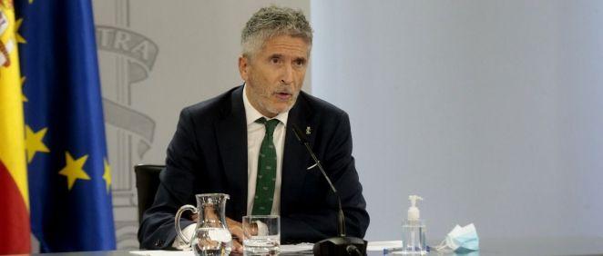 Fernando Grande-Marlaska, ministro del Interior (Foto: Pool Moncloa / JM Cuadrado)