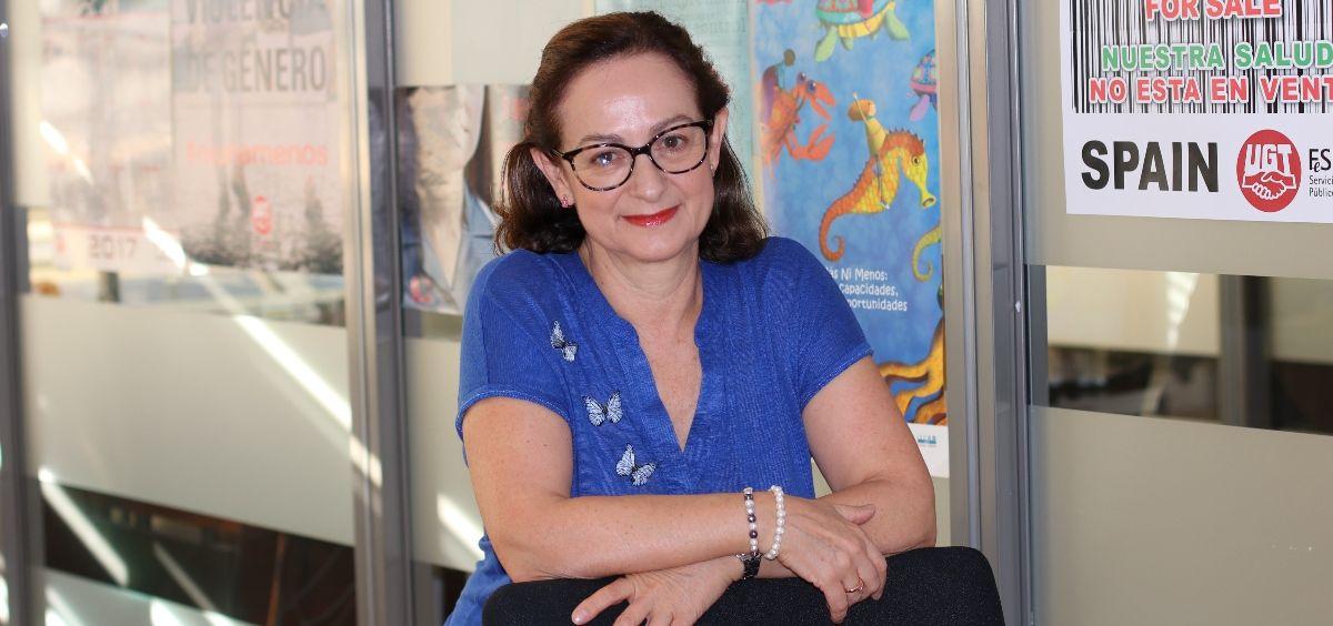 Gracia Álvarez, responsable de Salud, Servicios Sociosanitarios y Dependencia de UGT