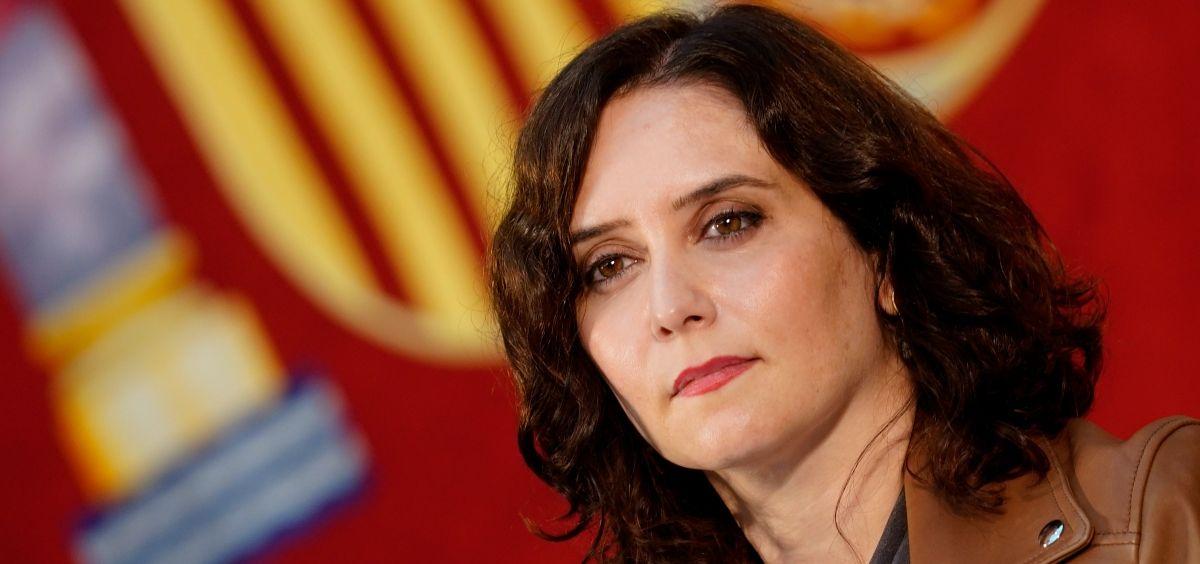 Isabel Díaz Ayuso, presidenta de la Comunidad de Madrid. (Foto. Comunidad de Madrid)