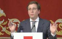 José Luis Martínez Almeida, alcalde de Madrid.