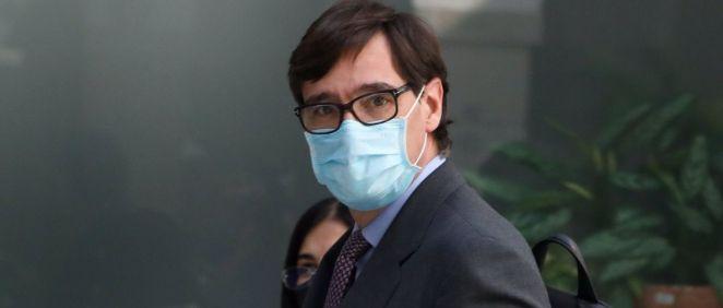 El ministro de Sanidad, Salvador Illa. (Foto. Europa Press - M.Fernández. Pool - EP)