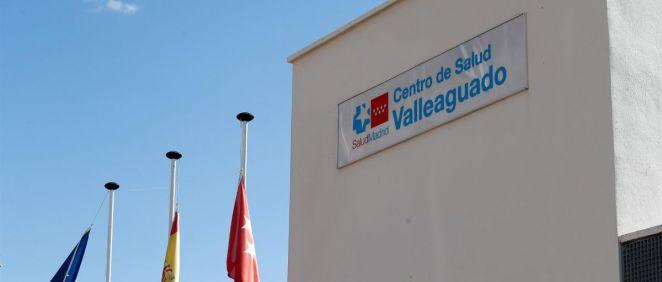 Fachada del Centro de Salud Valleaguado, Coslada, Madrid. (Foto. Óscar J.Barroso   Europa Press)