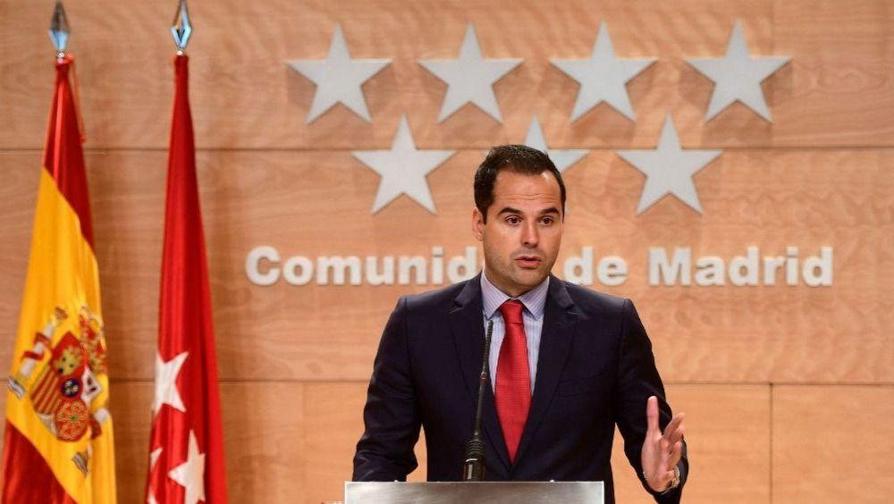 Ignacio Aguado, vicepresidente de la Comunidad de Madrid (Foto: CAM)