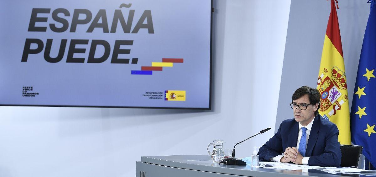 El ministro de Sanidad, Salvador Illa. (Foto. La Moncloa) (2)