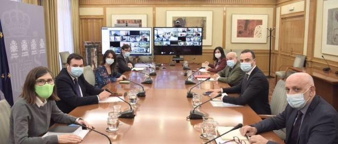 Reunión del Consejo Interterritorial del Sistema Nacional de Salud (Foto. Ministerio de Sanidad)