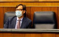 Salvador Illa, ministro de Sanidad, en el Congreso de los Diputados (Foto: Congreso)