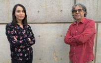 Carles Soriano, coordinador del estudio y Maria Suñol, primera firmante