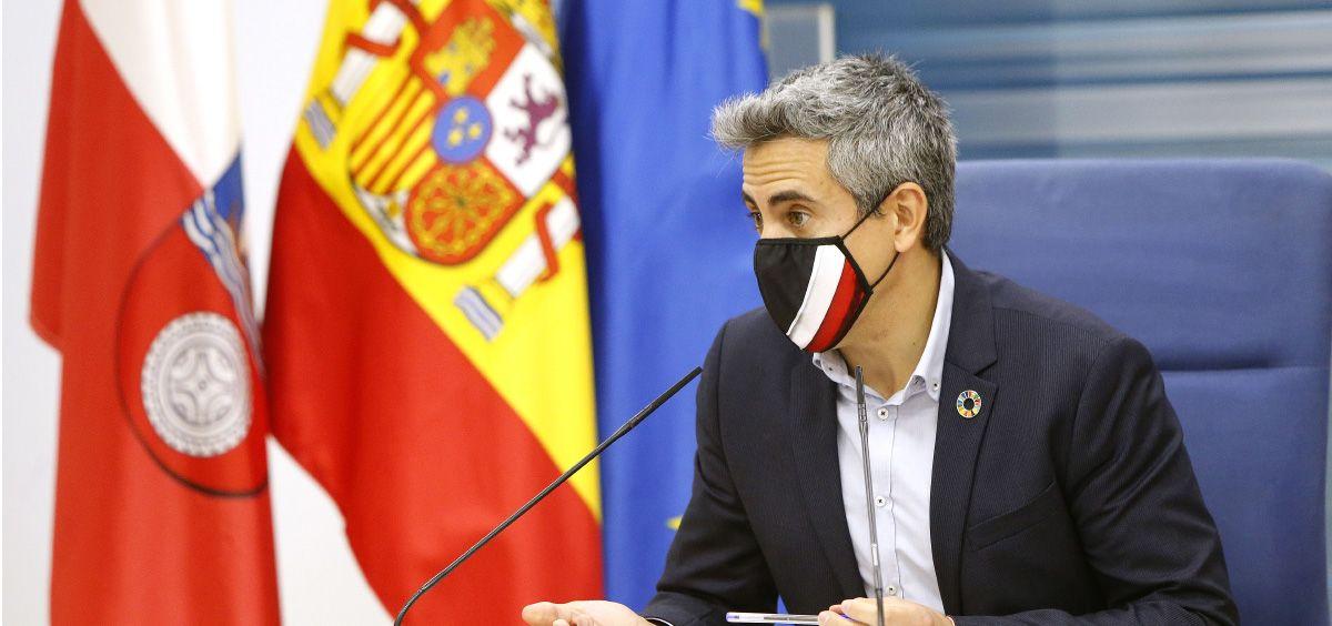Pablo Zuloaga, vicepresidente del Gobierno de Cantabria (Foto. Gobierno de Cantabria)