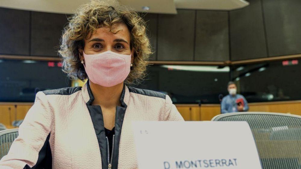 Dolors Montserrat, portavoz de la delegación española del PP en el Parlamento Europeo (Foto: @DolorsMM)