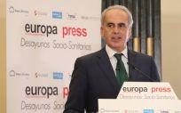 Enrique Ruiz Escudero, consejero de Sanidad de la Comunidad de Madrid (Foto: EP)