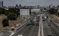 Vista de tráfico de vehículos desde Cuatro Vientos,. (Foto. Eduardo Parra   Europa Press   Archivo)