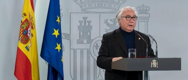 El ministro de Universidades, Manuel Castells (Foto: La Moncloa)