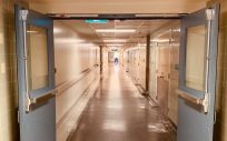 Pasillo de hospital. (Foto. Unsplash)