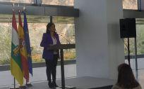 La presidenta del Gobierno de La Rioja, Concha Andreu (Foto. EUROPA PRESS)
