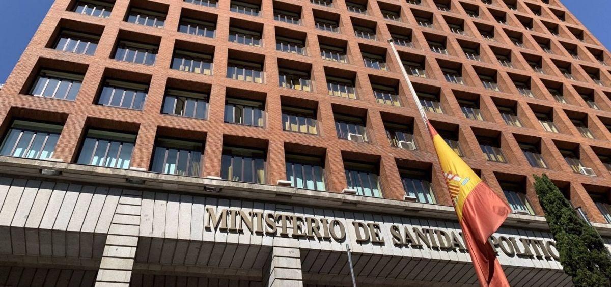Sede del Ministerio de Sanidad. (Foto. MS Archivo EP)