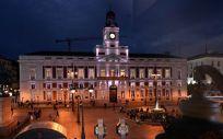 La Real Casa de Correos de Madrid, sede de la Presidencia Regional. (Foto. COMUNIDAD DE MADRID)