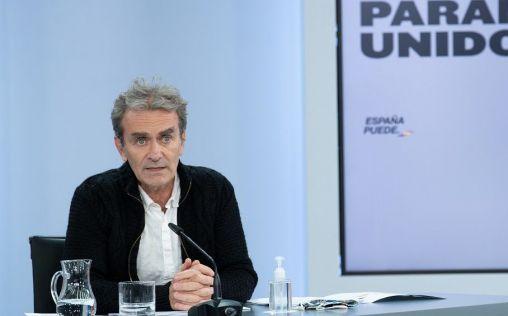 """Simón advierte de que la curva en España sigue en ascenso y la situación es """"preocupante"""""""