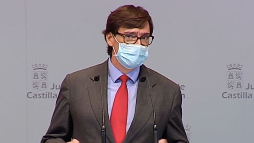 Salvador Illa, ministro de Sanidad (Foto: JCYL)