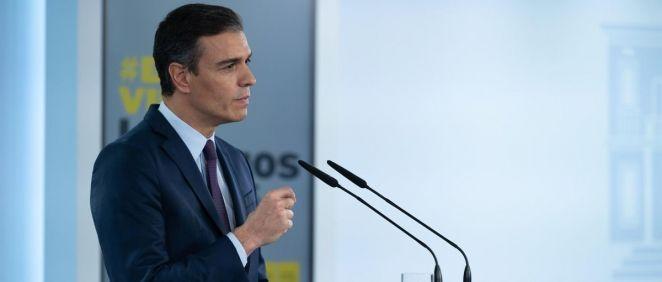 El presidente del Gobierno, Pedro Sánchez. (Foto. Moncloa)