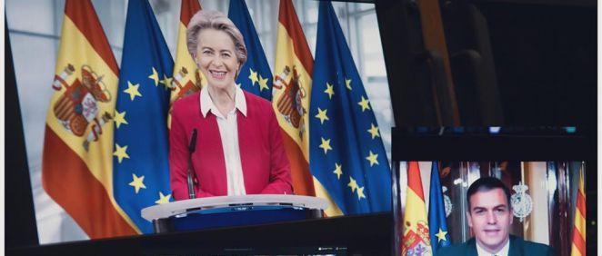 Conferencia de Presidentes, con Ursula von der Leyen de invitada (Foto: @vonderleyen)