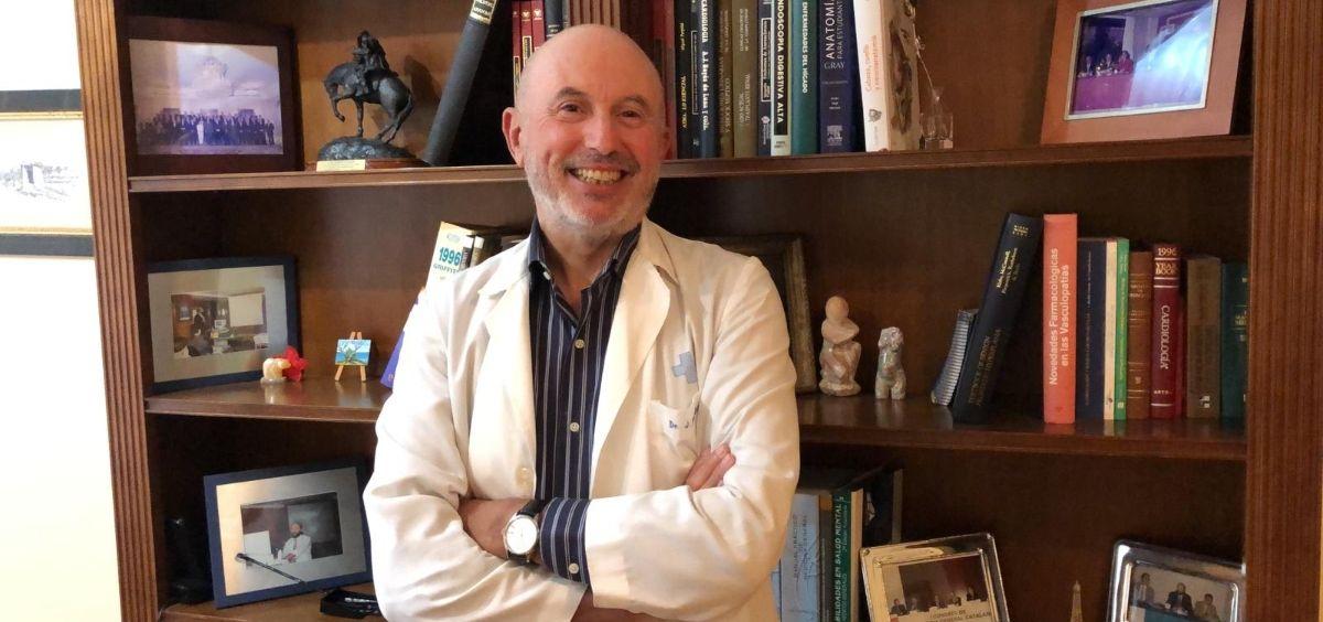 Josep Fumadó, médico de Familia de Els Muntells - Sant Jaume d'Enveja (Tarragona).