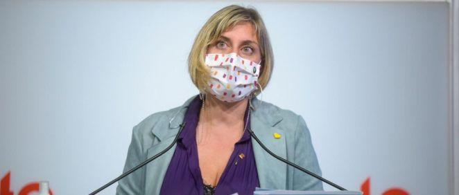 La consejera de Salud, Alba Vergés. (Foto. Govern.cat)