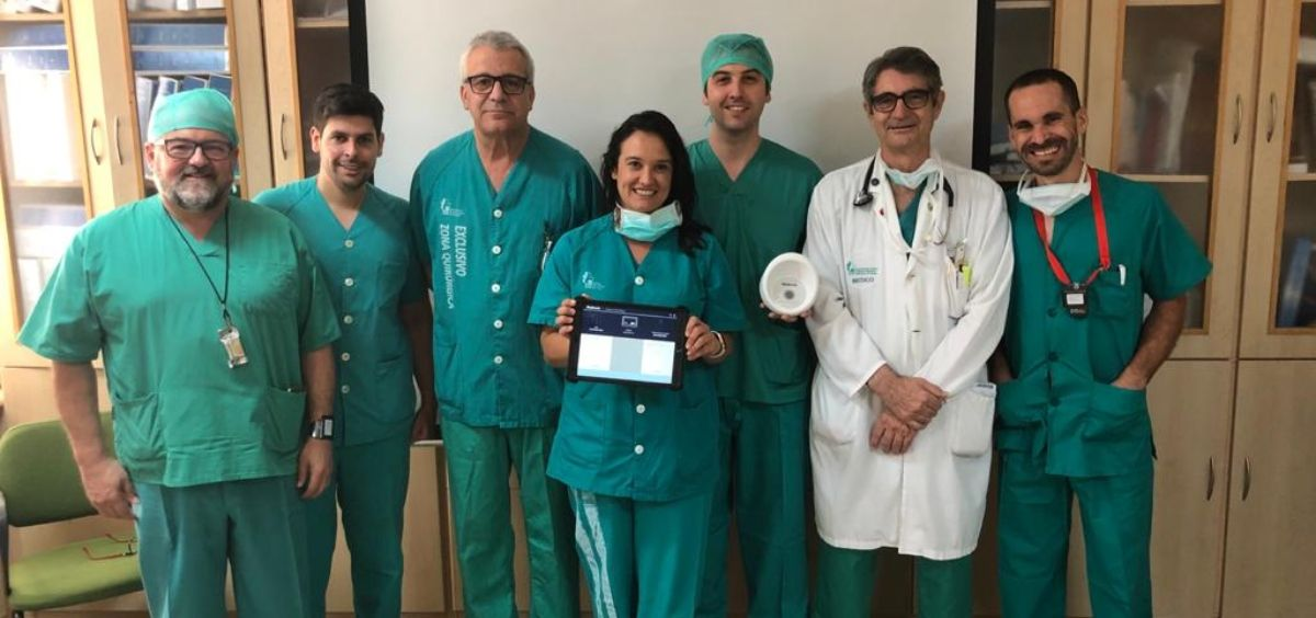 Equipo implantador (Foto. ConSalud.es)