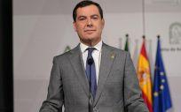 El presidente de la Junta de Andalucía, Juanma Moreno (Foto. Jesús Morón  Junta de Andalucía)