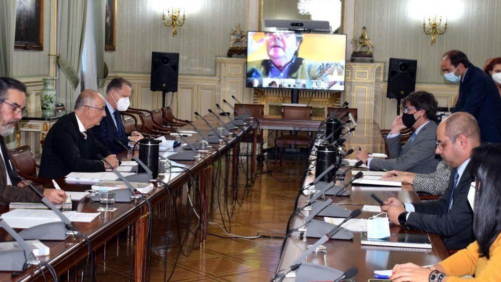 Reunión del Ministerio de Política Territorial y Función Pública con autonomías y sindicatos (Foto: MPTFP)