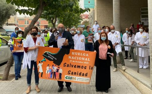 España afronta su primera huelga general de médicos en 25 años y en plena pandemia de la covid-19