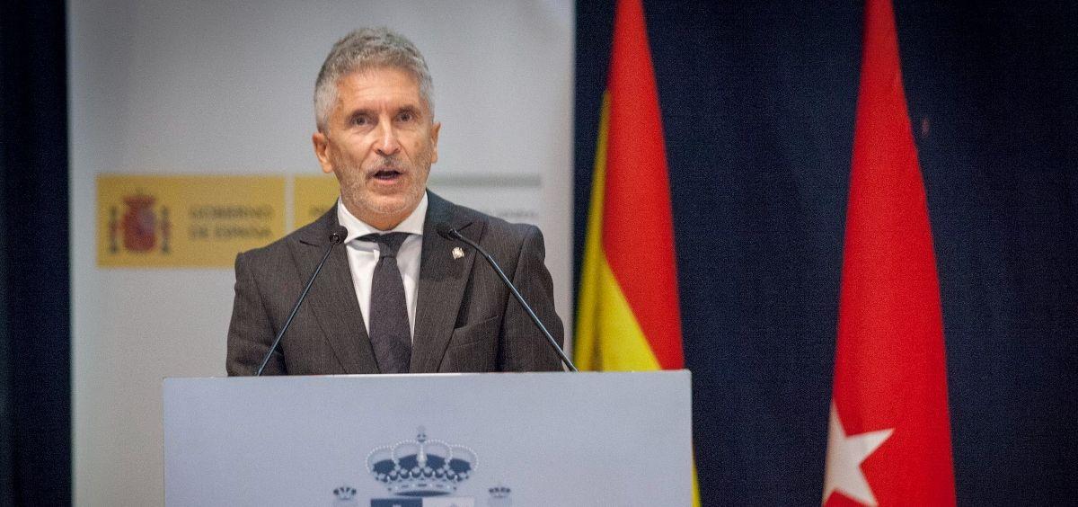 El ministro del Interior, Fernando Grande Marlaska. (Foto. Ministerio del Interior)