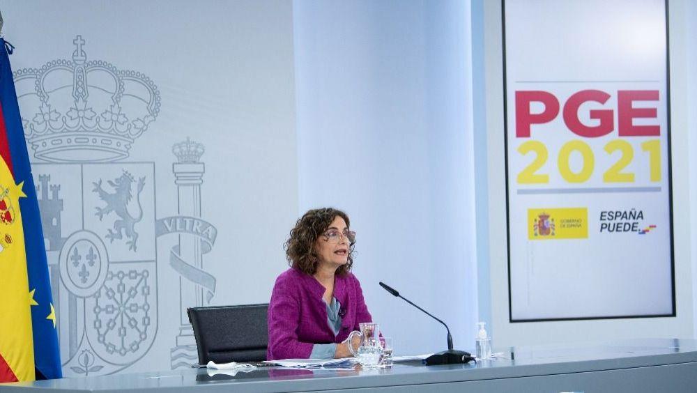 María Jesús Montero, portavoz del Gobierno y ministra de Hacienda (Foto: Pool Moncloa / Borja Puig de la Bellacasa)