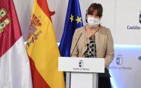 La portavoz y consejera de Igualdad castellanomanchega, Blanca Fernández (Foto. JCCM)