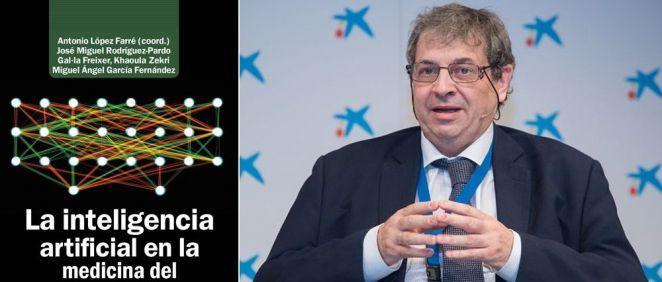 Antonio López Farré presenta su nuevo libro: 'La inteligencia artificial en la medicina del tercer milenio: De la predicción al diagnóstico' (Fotomontaje ConSalud.es)