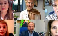 Imagen de la jornada virtual sobre vacunación celebrada por el Consejo General de Enfermería (CGE) (Foto. CGE)